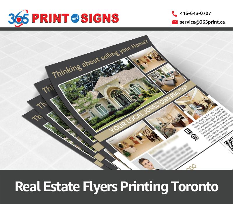Flyers Printing Toronto