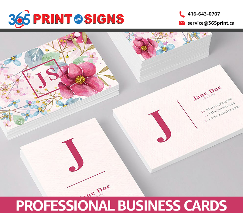 Tips for Designing Professional Business Cards