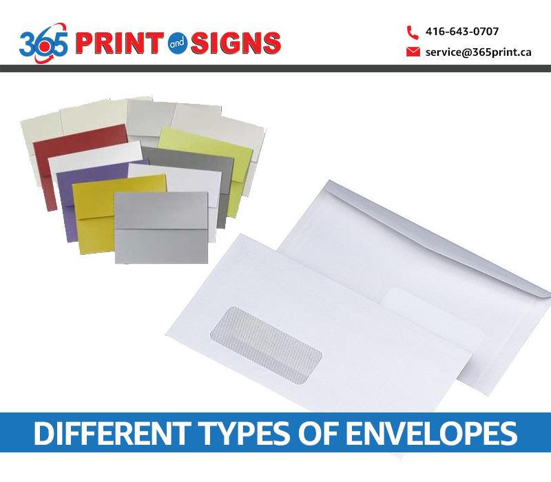 different types of Envelopes