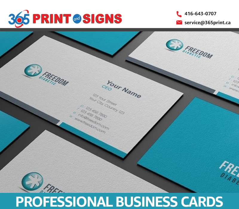 Designing Professional Business Cards
